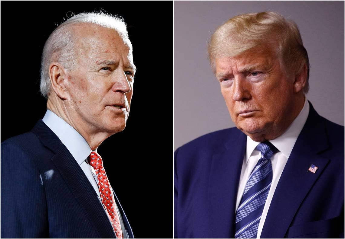 Biden overtakes Trump in support among active-duty troops, new poll finds