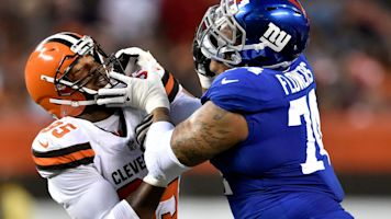 Redskins reach deal with Giants draft bust