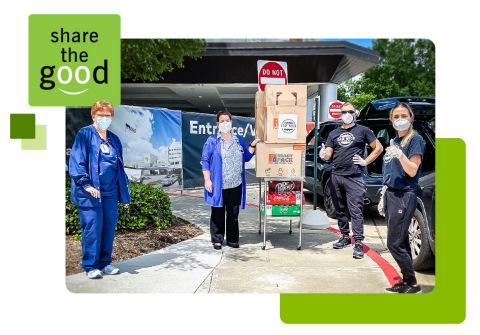 Thanking Health Care Heroes Regions Bank Teams Share The Good