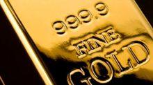 El oro vuelve a retroceder al tocar la línea de tendencia