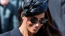 Meghan Markle wore a pair of £545 sunglasses at the weekend