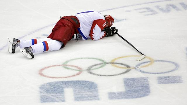 Russian hockey collapse