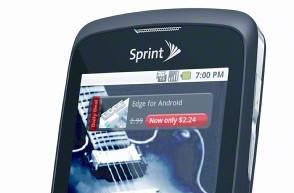 Sprint guns for mid-range Android: $149 Samsung Transform, $99 Sanyo Zio, and $49 LG Optimus S include 'Sprint ID'