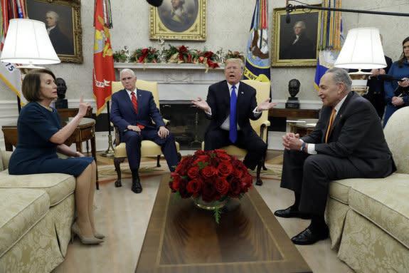 Morning Brief: Trump boosts gov't shutdown odds over border wall funding