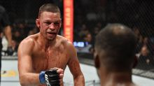 Fans loved Nate Diaz's bloody fight with Leon Edwards at UFC 263