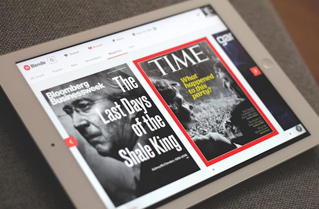 Blendle brings its pay-per-story news hub to the US