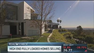 High-end fully loaded homes selling
