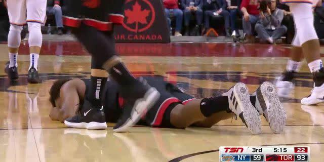 Injury: Kyle Lowry