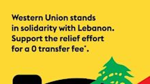Western Union Stands in Solidarity with Lebanon