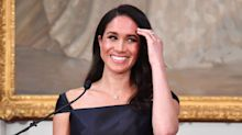 Pregnant Meghan Markle Makes Surprise Solo Appearance at College Campus in London