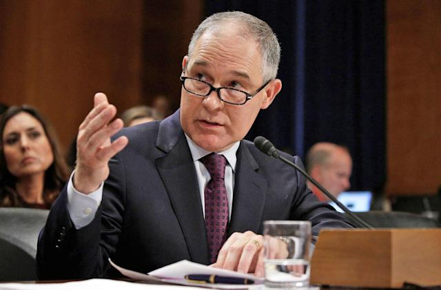 Who is Scott Pruitt, the new EPA head?