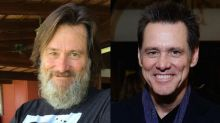 Jim Carrey is unrecognisable with his HUGE new beard