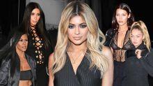 Cool Kids Dress Code: Kardashian-Jenner-Hadid Squad WearAll Black Errthang