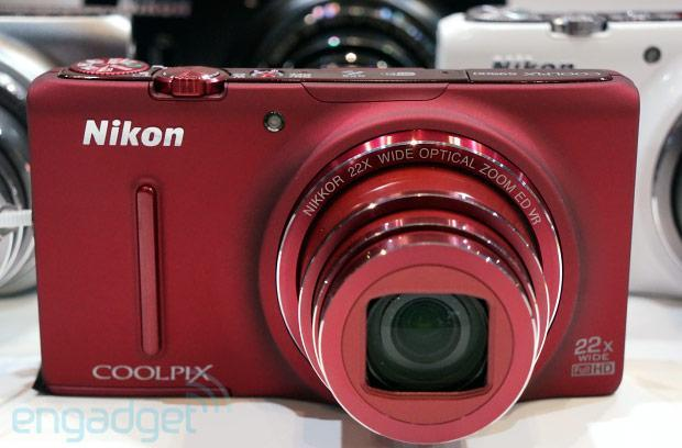 Nikon Coolpix S9500, S9400 and S5200 point-and-shoots debut at CP+ (hands-on video)