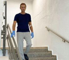 Merkel visited Kremlin critic Navalny in hospital