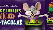 """CEC Entertainment Debuts """"Chuck E. Cheese's Halloween Boo-Tacular"""" A New Month-Long Event Celebrating Halloween In-Store, At-Home And Online"""