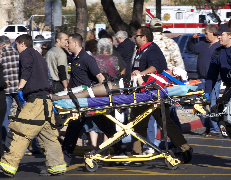 Arizona Senate candidate shot mother, speaks on gun control