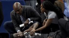 Brooklyn Nets' Caris LeVert leaves game with gruesome right leg injury