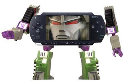 Transformers PSP in disguise