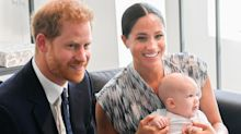 Baby Archie is staying behind in Canada while Meghan and Harry are back in the UK