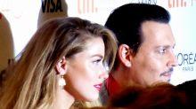 Amber Heard afirma que la despidieron de varios trabajos tras acusar a Johnny Depp de violencia doméstica