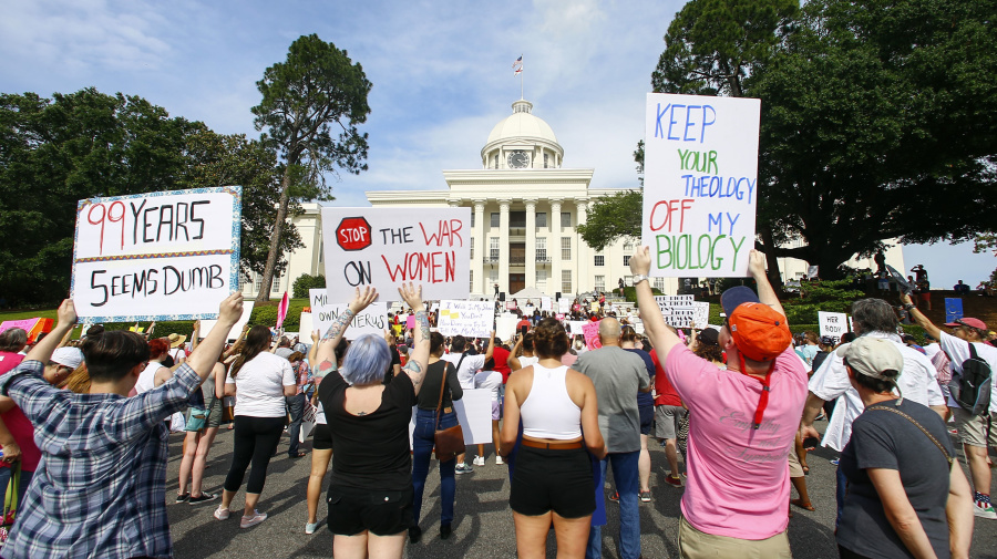 Federal suit filed to block Alabama abortion ban