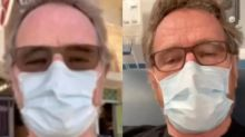 Bryan Cranston donates plasma after revealing he has recovered from coronavirus: 'Keep wearing the damn mask'