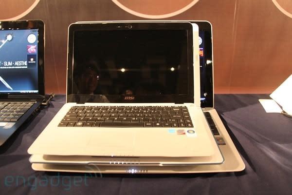 MSI's X-Slim X340 vs. X400 vs. X600 CULV laptops... Fight!