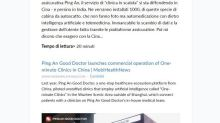 """La clinica """"in a Box"""" della cinese Ping An su Finanbolic"""