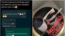 Mumbai Police Sends Cake to 'Responsible' Twitter User for Refusing to Meet Her Friends on Birthday
