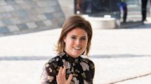 Princess Eugenie's short dress and knee-high boots are causing a style controversy
