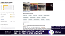 UK consumer group: Amazon is full of fake five-star reviews
