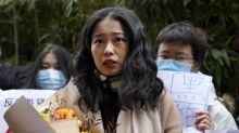 Her #MeToo trial's making history in China and sparking rare solidarity