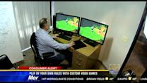 Play by your own rules with custom video games