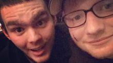 Acuchillado Ed Sheeran por la Princesa Beatriz