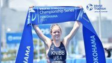 Triathletes Taylor Knibb,Morgan Pearson qualify for U.S. Olympic team