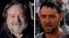 Russell Crowe usa el poder de su voz para convencernos de ver su nueva película en el cine