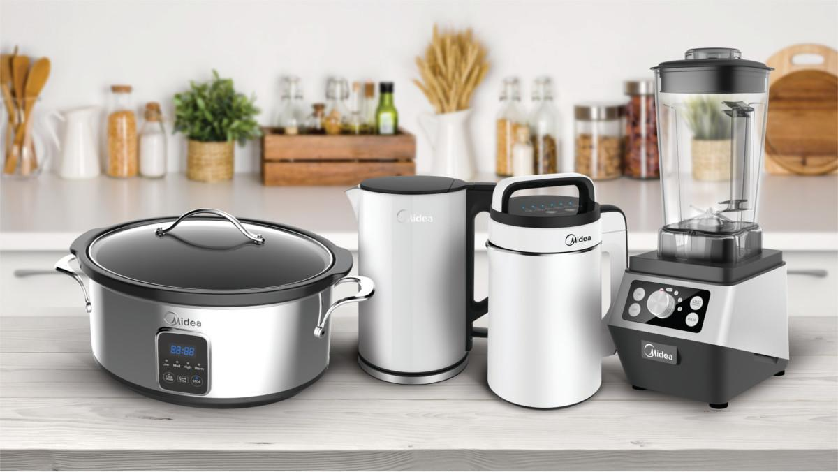 Cooking Made Easier Midea Announces Upcoming Line Of Small Appliances