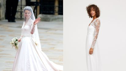 Here's how to buy Kate Middleton's luxurious wedding dress for under $300