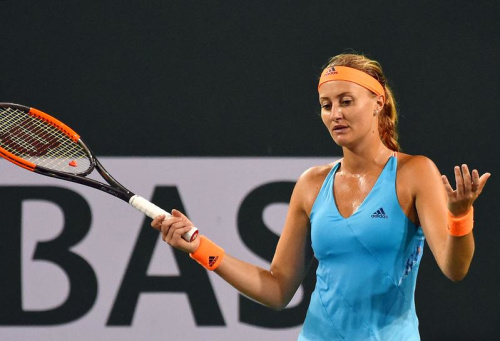 Kristina Mladenovic échoue en finale