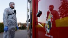 French fire crews swap hoses for masks to fight coronavirus