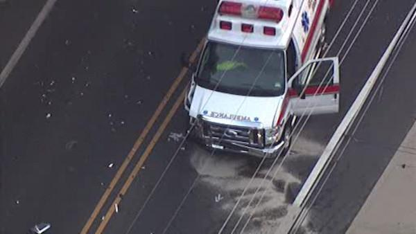 Injuries in Gloucester Township ambulance crash