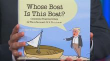 Stephen Colbert turns Trump's hurricane comments into a children's book
