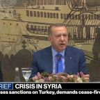 President Trump authorizes sanctions against Turkey