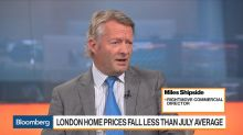 Rightmove's Shipside Sees Bottoming Out of London Housing Market
