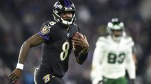 Jackson, Ravens beat Jets 42-21 to clinch AFC North title