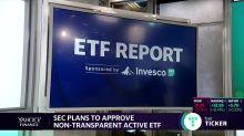 SEC plans to approve non-transparent active ETFs