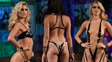 Models wearing nothing but black tape hit NYFW catwalk