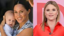 'Let's lift women up': Jenna Bush Hager defends Meghan Markle from online mom-shamers