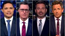 Late Night Hosts Tackle Trump's 'Impeachment Meltdown' And 'Gatorgate'